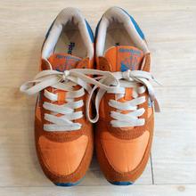 reebok  オレンジ×ブルー スニーカー/古着 ビンテージ リーボック