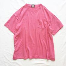 1990's~ USA製 ピンク ポケット付き 半袖Tシャツ / 古着 ビンテージ