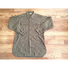 ~50s US ARMY ウールシャツ/古着 ビンテージ ミリタリー