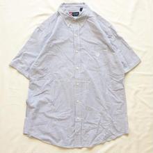 RALPH LAUREN CHAPS シアサッカー ストライプ柄 半袖シャツ / 古着  ビンテージ