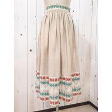 Vintage  ~60s グアテマラ刺繍 スカート/古着 ビンテージ