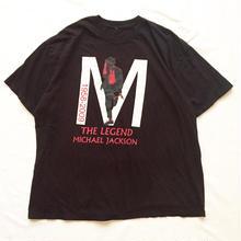 MICHAEL JACKSON マイケルジャクソン プリント 半袖Tシャツ / 古着 ビンテージ