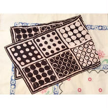 vintage JAPAN製 vera くすみピンク ドット柄 ロング スカーフ/古着 ビンテージ