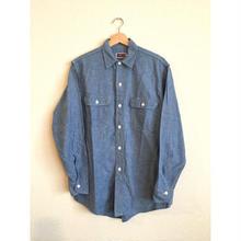80s~ USA製 BIG MAC  ビッグマック シャンブレーシャツ/古着 ビンテージ vintage