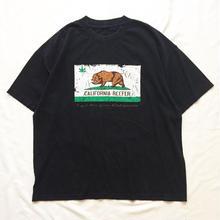 1990's~ CALIFORNIA REPUBLIC パロディ プリント 半袖Tシャツ / 古着 ビンテージ