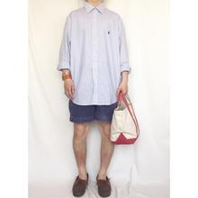 Polo Ralph Lauren ポロラルフローレン ワンポイント刺繍 チェックシャツ/古着 ビンテージ
