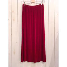 USA製 ボルドー シンプル スカート/古着 ビンテージ