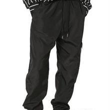 ジョガーパンツ イージーパンツ サイドポケット 黒 メンズ