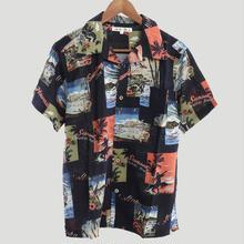 レーヨンアロハシャツ