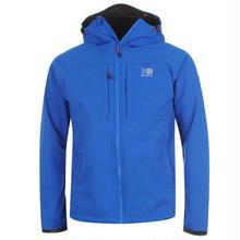 英国直輸入カリマー ソフトシェルジャケット 色:ブルー/オレンジ Karrimor Alpiniste  Soft Shell Jacket Mens Colour:Blue/Orange