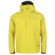 英国直輸入カリマーソフトシェルジャケット 色:Green Glow Karrimor Alpiniste Soft Shell Jacket Mens Colour:Green Glow