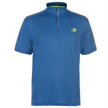 940,941 カリマー 1/4ZIP ランニング・トレッキング用 Tシャツ ブルー M,L (UK/S,UK/M) Karrimor X Lite Race ZIP T shirt