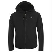 英国直輸入カリマー ソフトシェルジャケット 色:ブラック/イエロー Karrimor Alpiniste Soft Shell Jacket Mens Colour:Black/Yellow