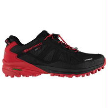 英国直輸入カリマー トレイルランニングシューズ黒/赤 Karrimor Sabre WTX Mens Trail Running Shoes Colour Black/Red