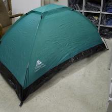375  本格仕様 超軽量ドームテント(グリーン)