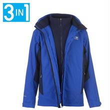 英国直輸入カリマー マウンテンジャケット 色:サーフブルー/ネイビー Karrimor 3 in 1 Weathertite Jacket Mens Colour:Surf Blue/Navy
