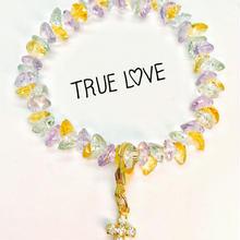 【残1】不倫恋愛の停滞、不安、嫉妬を消し、新しい運気を呼ぶハートの宝石ブレスレット