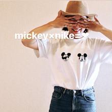 【DM頂いた方限定❤︎】mickey×nike=☺︎ for  ladies/mens