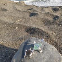 Only One シリーズ・シリウスからの隕石☆彡Cintamani Stone&Green Fluorite- 光の使者α