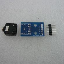 Φ3.5 Stereo Jack変換PCB + 部品 5枚セット