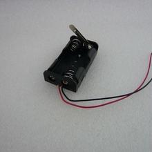レバースイッチ付電池ホルダー( 単3-2本用 )  2pcs/セット