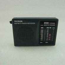 在庫1台限り:ワイドFM受信可能  TECSUN  R-202T AM/FM ラジオ