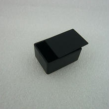 MINI PLASTIC CASE  36.5×26.5×16.5 mm    色:黒  2個パック