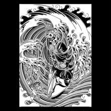 """CREIGHT×野坂稔和 『SURF MONK』""""シルクスクリーンプリント/制作数150枚"""""""