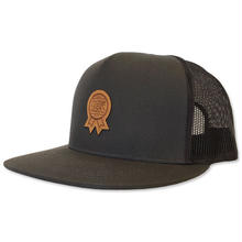 "CREIGHT  CUSTOMWORKS""CLASSIC TRUCKER CAP""(R) / CHARCOAL"