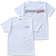 "CREIGHT ""SKATEBOARDING IS CULTURE TEE"" / WHITE"