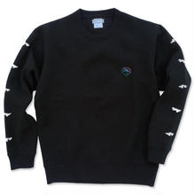 "CREIGHT  CUSTOMWORKS""Custom Patch"" Crew Sweat / BLACK"
