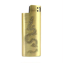 """GOOD WORTH """"JOIN OR DIE LIGHTER CASE -SMALL """" ( x 68&BROTHERS )"""
