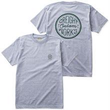 """CREIGHT CUSTOMWORKS """"Circle Logo""""Tee / H.GREY"""