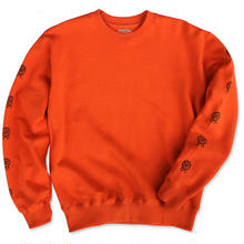 "CREIGHT  CUSTOMWORKS""D.I.Y CREW SWEAT"" / ORANGE"