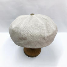 Linen mesh beret
