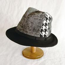 Crazy panel hat