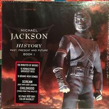 (3LP) MICHAEL JACKSON / HISTORY past,present and future BOOK1               < 新品未開封 / King of pops>