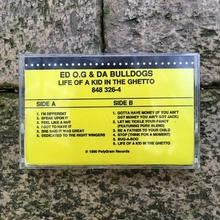 (TAPE) Ed O.G & Da Bulldogs / Life Of A Kid In The Ghetto   <HIPHOP / RAP>