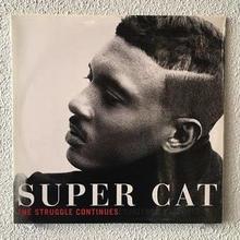 (LP) SUPER CAT / The Struggle Continues      <Raggae / HIPHOP / 新品未開封 / シールド>