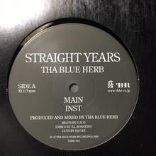 """(12""""/ used) THA BLUE HERB / STRAIGHT YEARS   <HIPHOP / RAP / BREAKBEATS>"""
