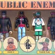 (GOODS) PUBLIC ENEMY / ACTION FIGURE SET        <HIPHOP>
