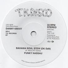 "(7"") Danny Krivit / MR.K T.K. Records EP     <re-edit / boogie>"