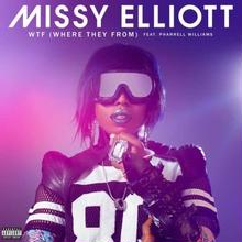 """(12"""") MISSY ELLIOTT / WTF(WHERE THEY FROM)                            <HIPHOP / RAP>"""