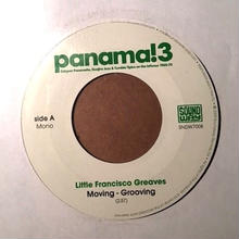 """(7""""/used) Little Francisco Greaves / moving grooving    <afro cuba / rare groove >"""