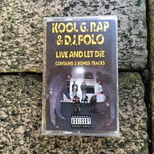 (TAPE) Kool G Rap & D.J. Polo ‎/  Live And Let Die   <HIPHOP / RAP>