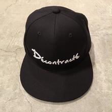 D18003《3D BB CAP》C/# BLK×WHT
