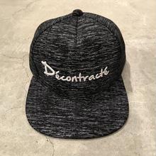 D18003《3D Melange  CAP》C/#MELANGE BLACK