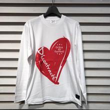 D17002《Big Logo L Tshirt》C/#  WHITE