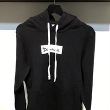 D17017《Pullover Hoodie》C/# BLACK
