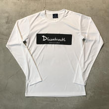 D18017《Dry Silky Touch L Tshirt》C/#  WHT×BLK
